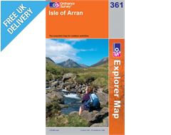 Explorer 361 Isle of Arran Map Book