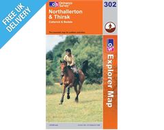 Explorer 302 Northallerton Map Book