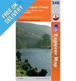 Explorer 346 Berwick Upon Tweed Map Book
