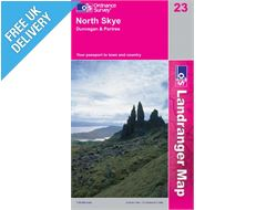 Landranger 23 North Skye and Dunvegan Map Book