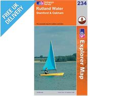 Explorer 234 Rutland Water Map Book