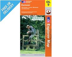 Explorer Active OL9 Exmoor Waterproof Map Book