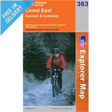 Explorer 363 Cowal East Map Book