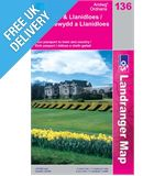 Landranger 136 Newtown and Llanidloes Map Book