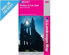 Landranger 94 Whitby and Eskdale Map Book