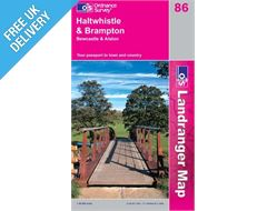Landranger 86 Haltwhistle and Brampton Map Book