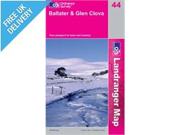 Landranger 44 Ballater Glen Cova Map Book