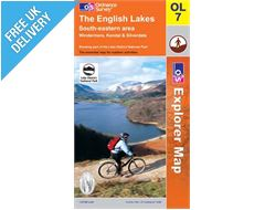Explorer OL7 English Lakes South East Map Book