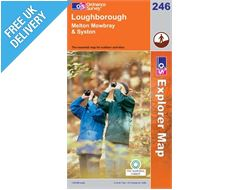 Explorer 246 Loughborough Map Book