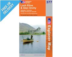 Explorer 377 Loch Etive and Glen Orc Map Book