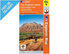 Explorer Active OL6 Lakes South West Waterproof Map Book