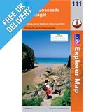 Explorer Map OL111 Bude, Boscastle &amp; Tintagel