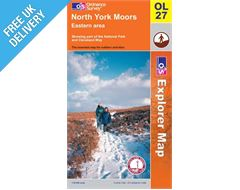 Explorer Active OL27 North York Moors East Waterproof Map Book
