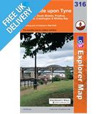 Explorer 316 Newcastle Upon Tyne Map Book