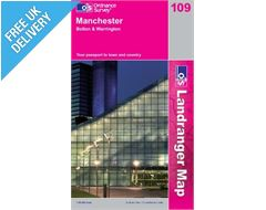Landranger 109 Manchester and Bolton Map Book