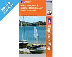 Explorer 223 Northampton and Market Harborough Map Book