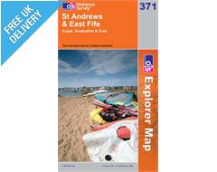 Explorer 371 St Andrews and East Fife Map Book