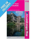 Landranger 118 Stoke on Trent and Macclesfield Map Book