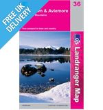 Landranger 36 Grantown Aviemore Map Book