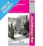 Landranger 104 Leeds and Bradford Map Book