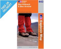 Explorer 443 Ben Klibreck Map Book