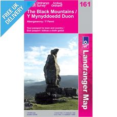 Landranger 161 The Black Mountains Map Book