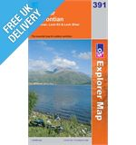 Explorer 391 Ardgour and Strontian Map Book