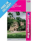 Landranger 129 Nottingham and Loughborough Map Book