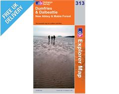 Explorer 313 Dumfries and Dalbeattie Map Book
