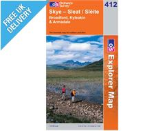 Explorer 412 Skye Sleat Map Book