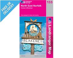 Landranger 133 North East Lincoln and Cromer Map Book