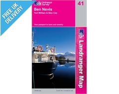 Landranger 41 Ben Nevis Fort William Map Book