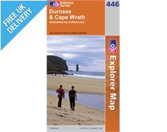 Explorer 446 Durness and Cape Wrath Map Book