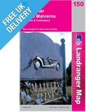 Landranger 150 Worcester and The Malverns Map Book