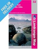 Landranger 32 South Skye and Cuillin Map Book