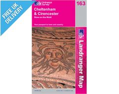 Landranger 163 Cheltenham and Circencester Map Book