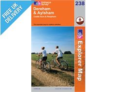 Explorer 238 East Dereham and Andaylsham Map Book