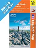 Explorer Active OL24 White Peak Waterproof Map Book