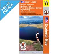 Explorer Active OL12 Beacons West Waterproof Map Book