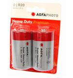 Super Heavy Duty Zinc Chloride Batteries, D (2 pack)