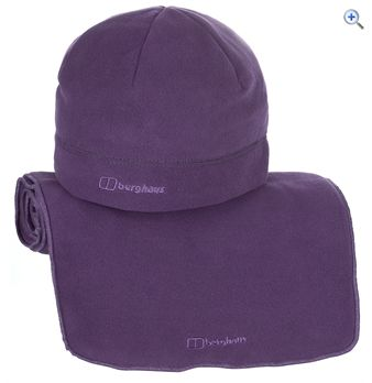 Berghaus Spectrum AT Classic Women&39s Hat & Scarf Set  Size SM  Colour Amethyst