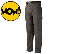 Men's Zip-Off Active Walking Trouser