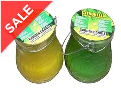 Citronella Hanging Candle (Single)