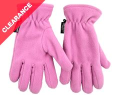 Women's Fleece Thinsulate Gloves