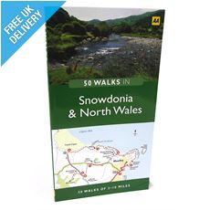 '50 Walks in Snowdonia and North Wales' Guide Book