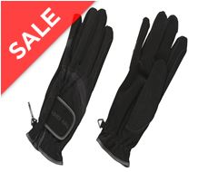 Domy Suede Riding Gloves
