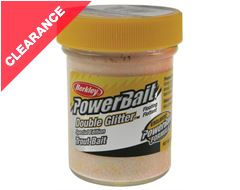 Powerbait Double Glitter Twist (Char)