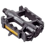 MTB Pedals- Plastic- Black 9 16