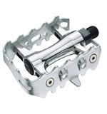 MTB Alloy Silver Pedals- 9/16