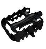 MTB Alloy Pedals- 9/16 - Black